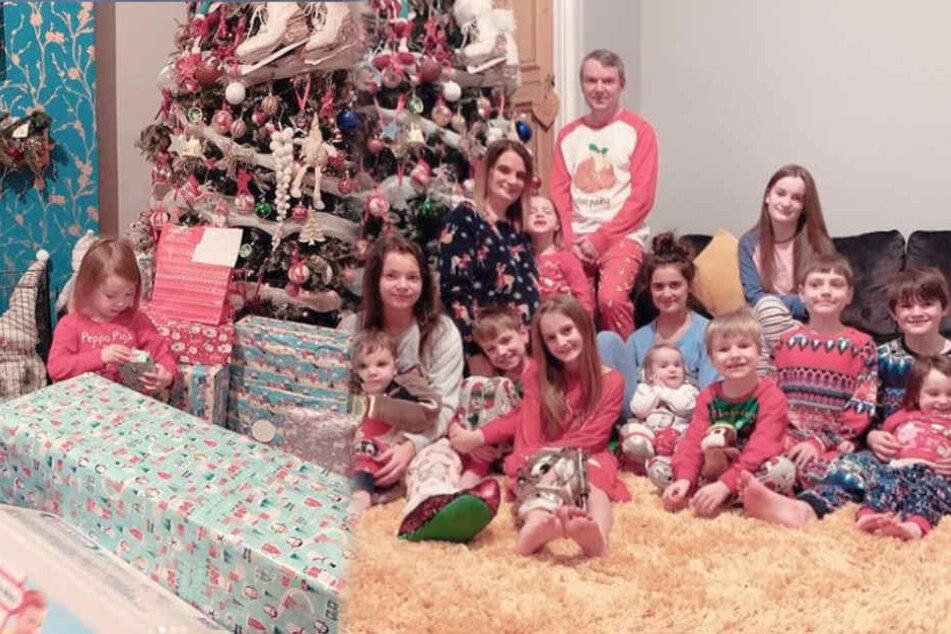 21 (!) Kinder: So sah es an Weihnachten bei dieser Mega-Familie aus