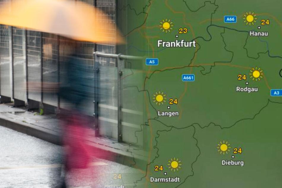 Sonne satt: Spätsommer kommt nach Hessen zurück