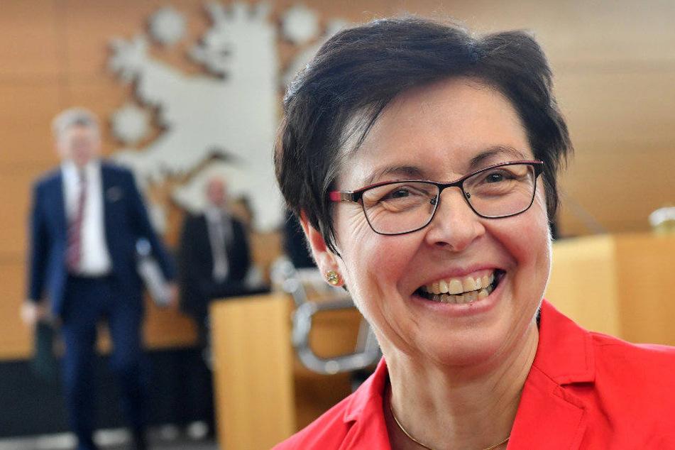 Heike Taubert (SPD) sieht Andrea Nahles bereits als neue Parteichefin.
