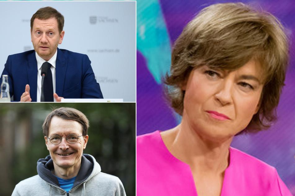 """ZDF-Talk """"maybrit illner"""" startet mit Kretschmer und Lauterbach ins neue Jahr"""