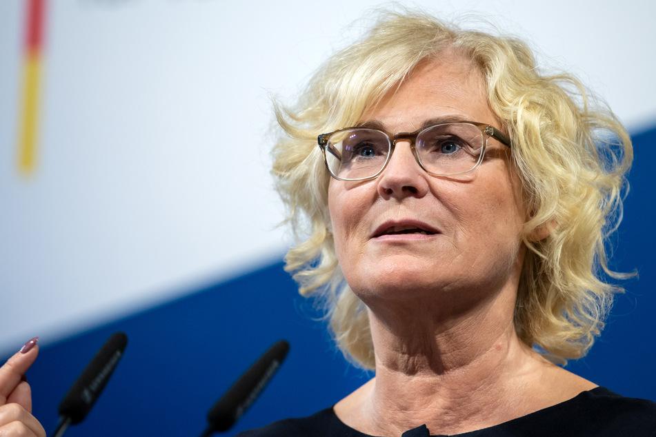 Justizministerin Christine Lambrecht (55, SPD). (Archivbild)