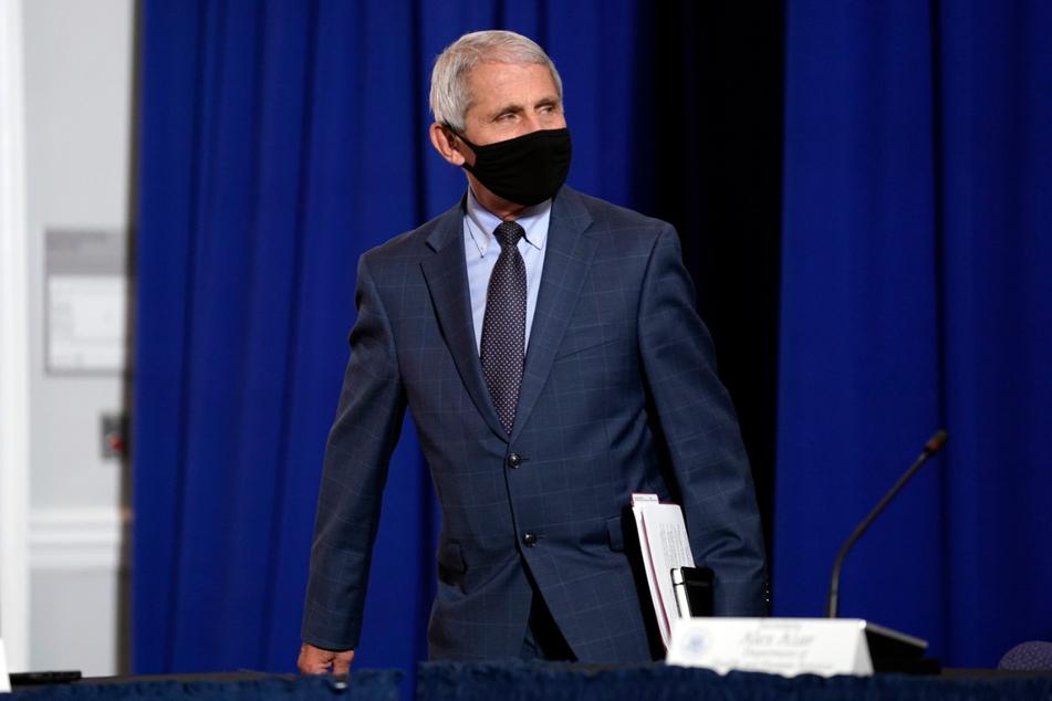 Anthony Fauci (79), Direktor des US-National Institute of Allergy and Infectious Diseases (NIAID) und ein Mitglied der Corona-Arbeitsgruppe des Weißen Hauses.