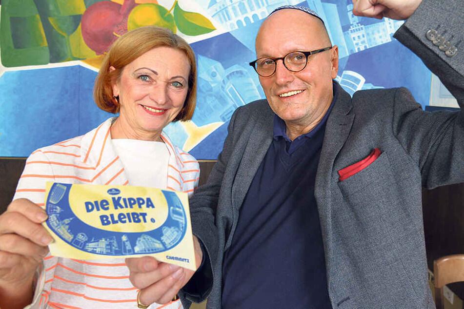 """""""Die Kippa bleibt"""": Jüdische Kultur-Aktion im Kraftwerk und Schalom"""