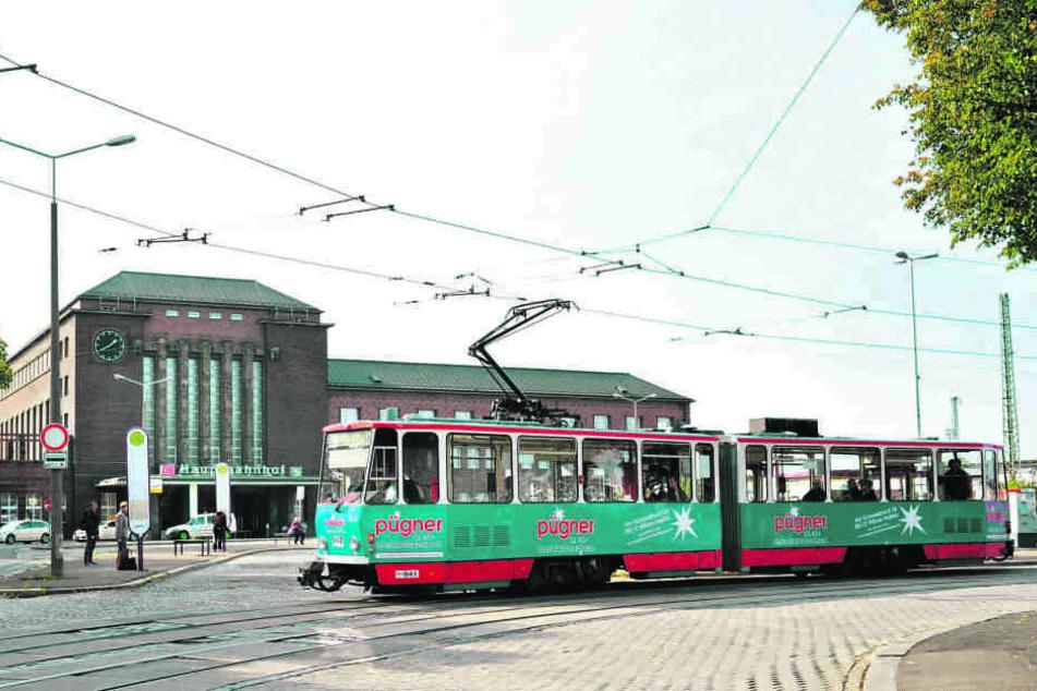 Der Zwickauer Bahnhofsvorplatz soll schöner werden.