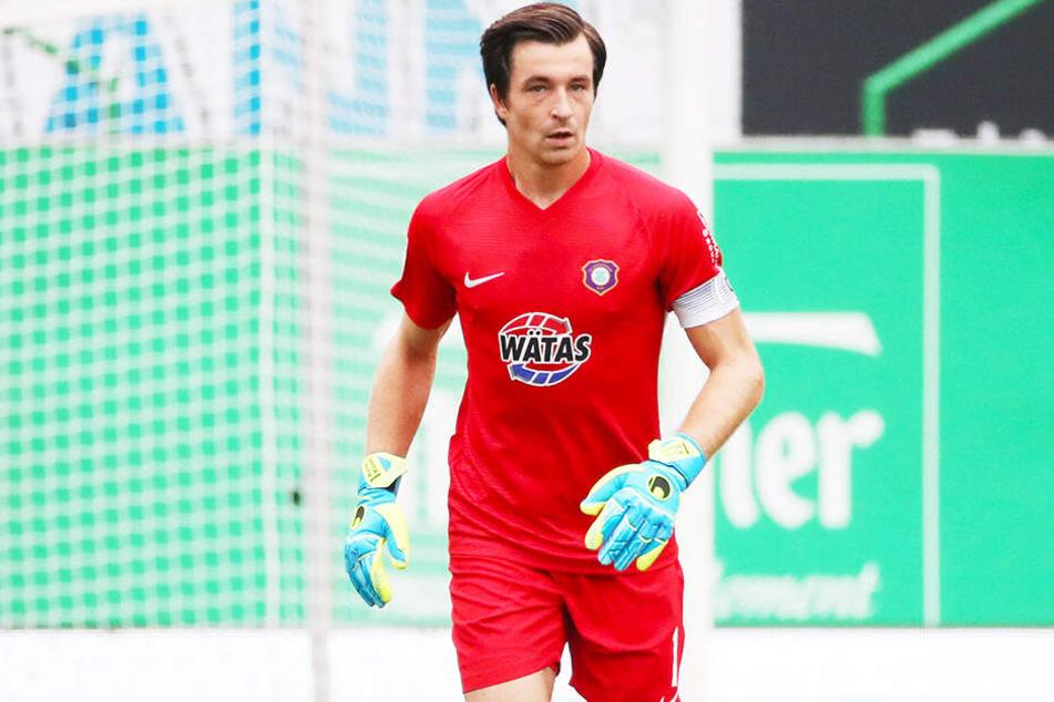 Torhüter Martin Männel will heute mit seinen Veilchen die Bilanz gegen den SV Wehen Wiesbaden aufhübschen.