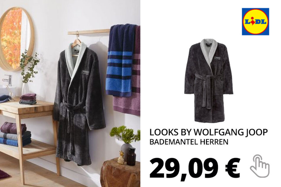 LOOKS by Wolfgang Joop Bademantel Herren