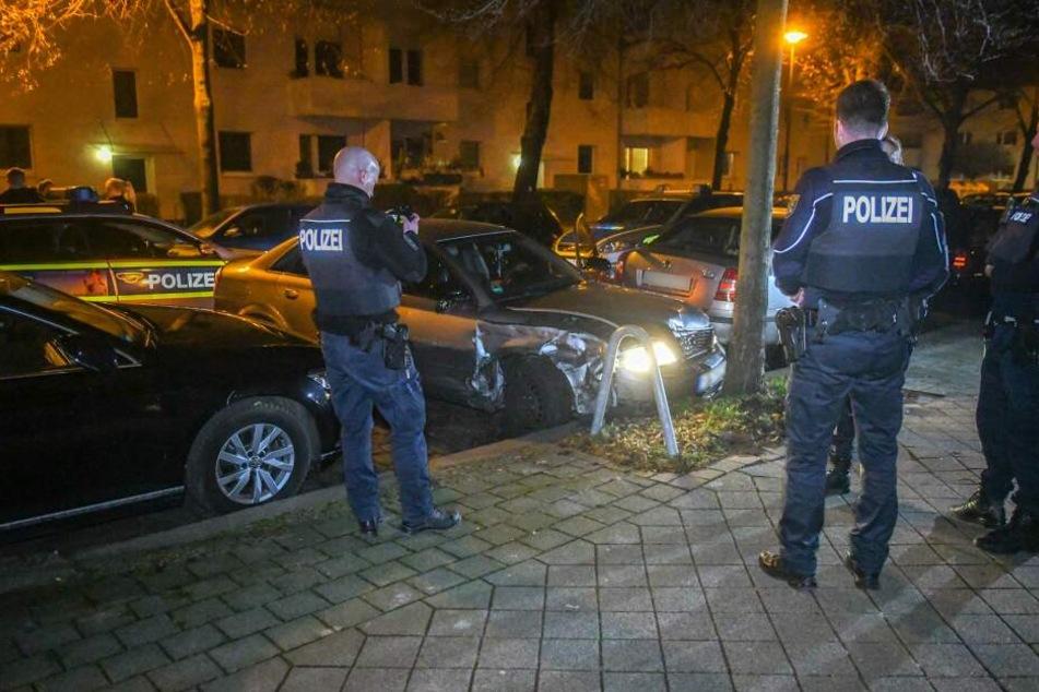 Dabei war ein Audi-Fahrer vor der Polizei geflohen, nachdem diese das Auto des Mannes kontrollieren wollten.