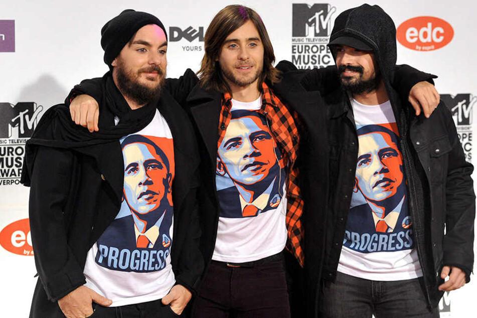"""Jared Leto (46) kommt mit seiner Band """"Thirty Seconds To Mars"""" nach Dresden."""
