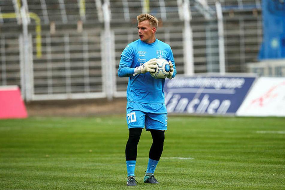Hütete das FCL-Tor nach dem krankheitsbedingten Ausfall von Stammkeeper Benjamin Kirsten und kassierte drei Buden: Lukas Wenzel (20).