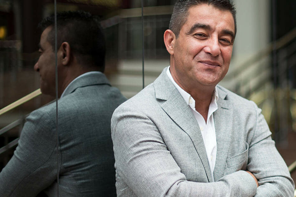 Sieger mit Herz: Hossein Ensan spendet einen Teil seines Gewinns an einen guten Zweck.