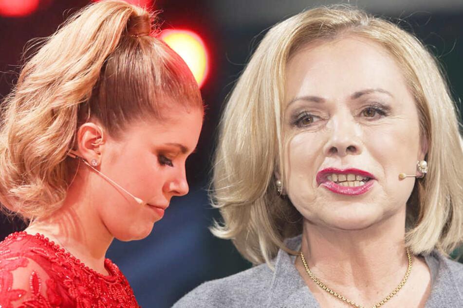 """Jetzt schießt die niederländische Moderatorin Marijke Amado (64) gegen die neue """"Let's Dance""""-Moderatorin Victoria Swarovski (24)."""