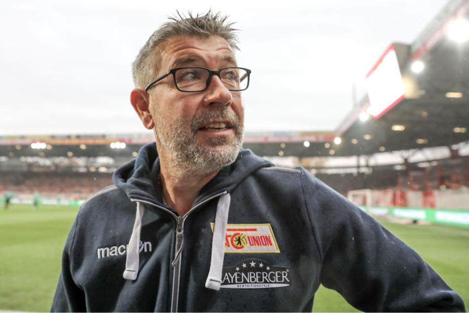 Union-Trainer Urs Fischer (52) kann sich über drei wichtige Punkte im Aufstiegsrennen freuen.