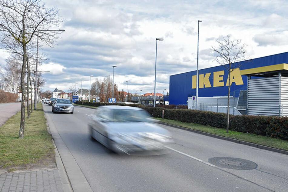 Ikea bekommt eine Ladestation mit Ökostrom.