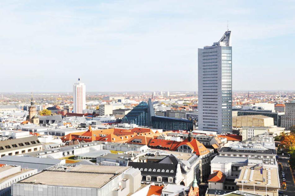 Panorama über Leipzig: Jedes Jahr zieht es tausende in die Messestadt!