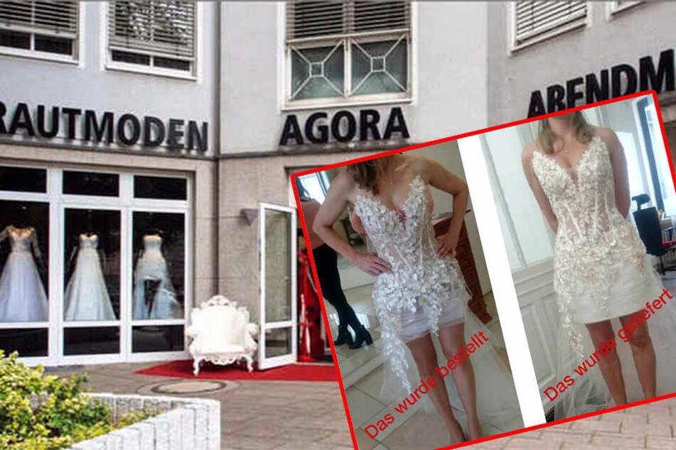 Betrogene Braut bestellt neues Kleid und wird wieder enttäuscht