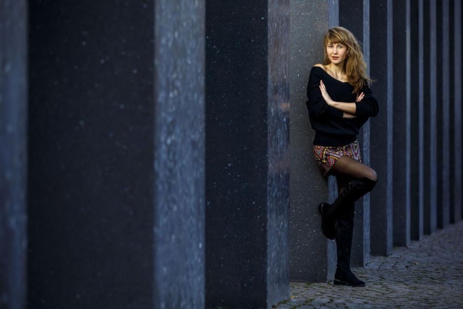 Model Julia Wolf (25) macht in Mittweida gerade ihren Master-Abschluss.