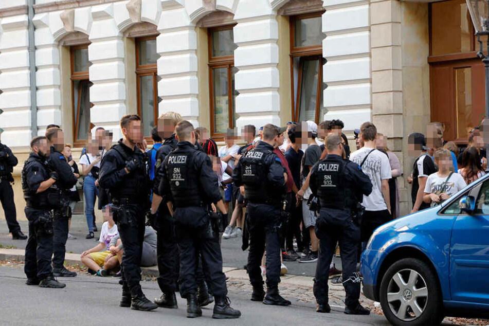 Grossrazzia gegen Jugendbanden in Chemnitz