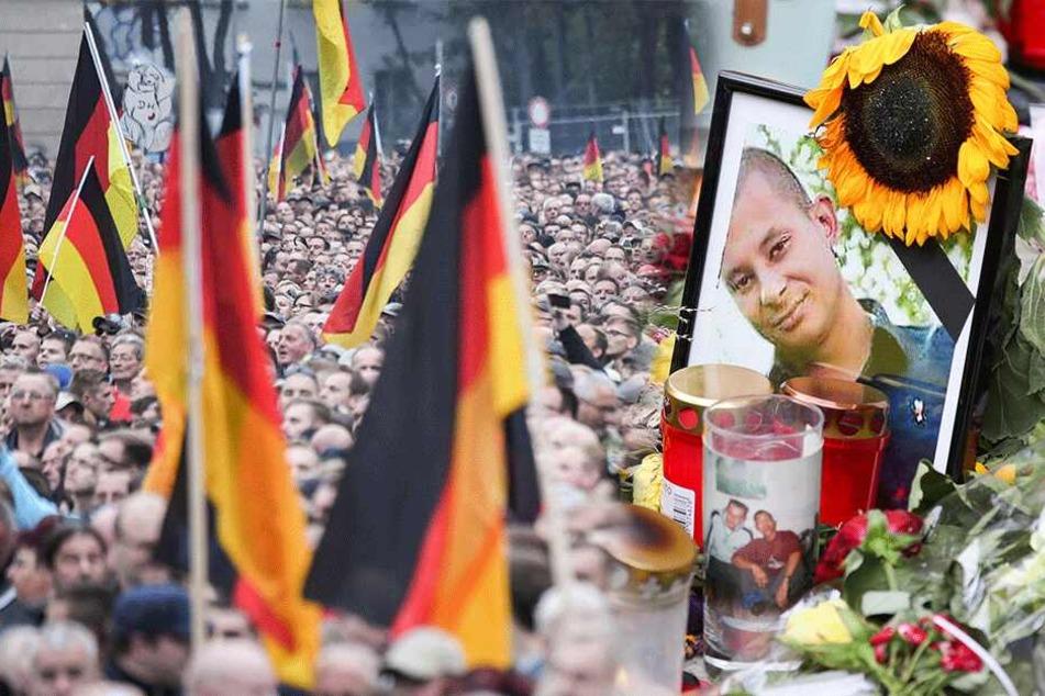Nach dem Mord an Daniel H. (†35) Ende August folgte Demo auf Demo in Chemnitz. Das verschreckte Touristen.