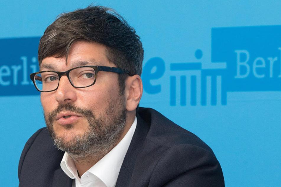 Berlins Justizsenator Dirk Behrendt (Grüne) steht stark in der Kritik.