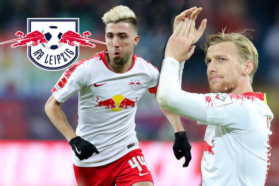 Leipzigs Kampl zurück beim Training: Wann ist Forsberg wieder fit?