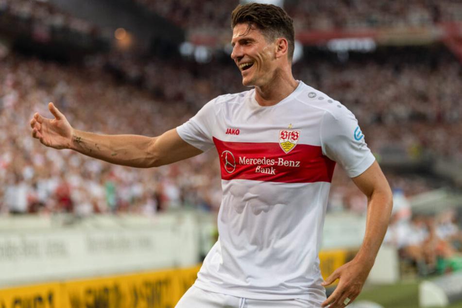 Mario Gomez schoß das 3:0. (Archiv)