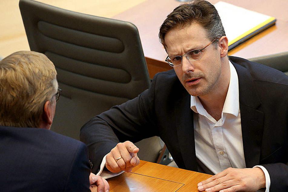 Markus Pretell, Vorsitzender der NRW-AfD, will am Donnerstag eine Erklärung abgeben.