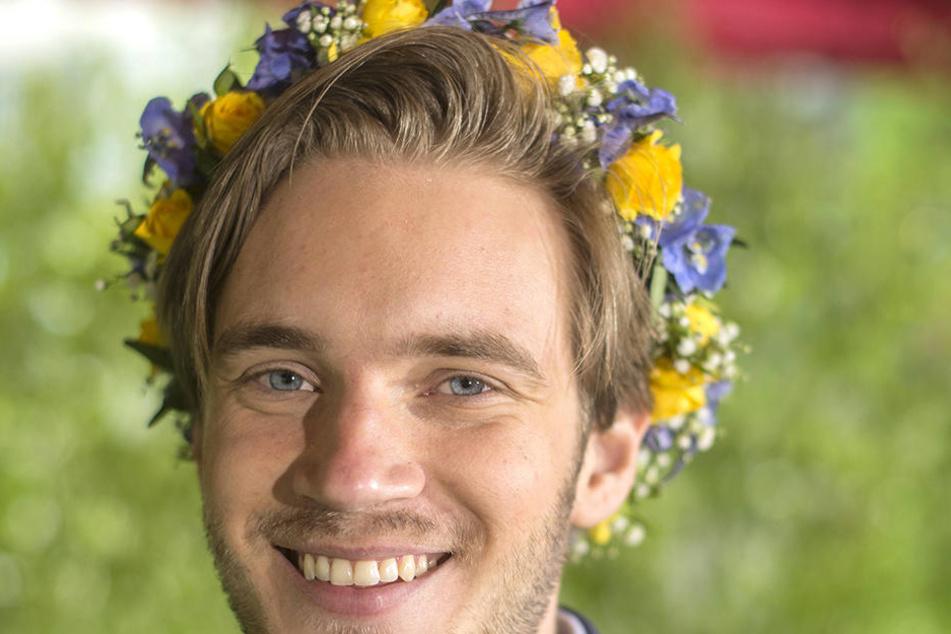 Felix Kjellberg (27). Der YouTuber steht derzeit in der Kritik.