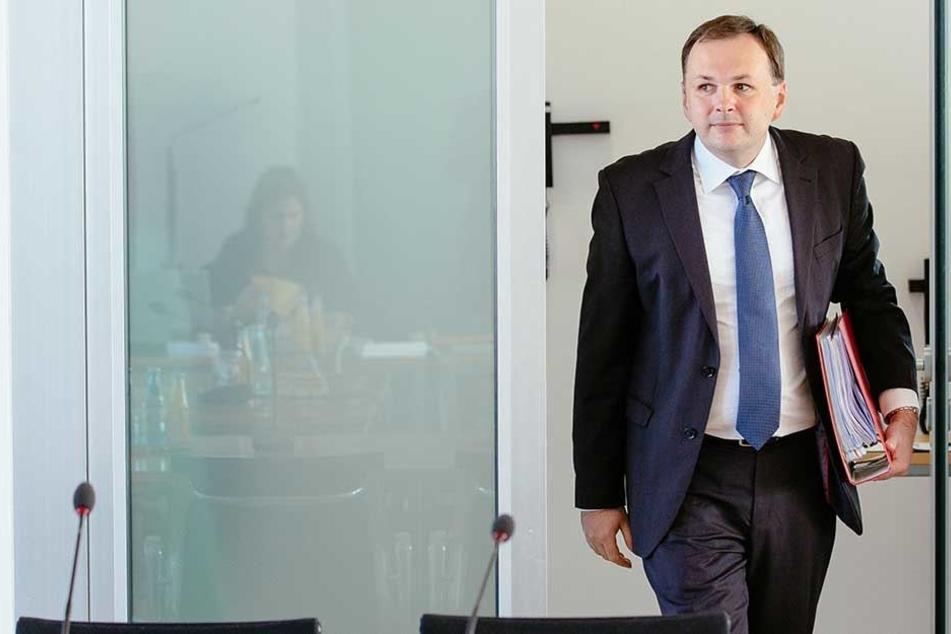 Linke-Chef André Schollbach (40) erhielt das zweitbeste Ergebnis aller Kandidaten.