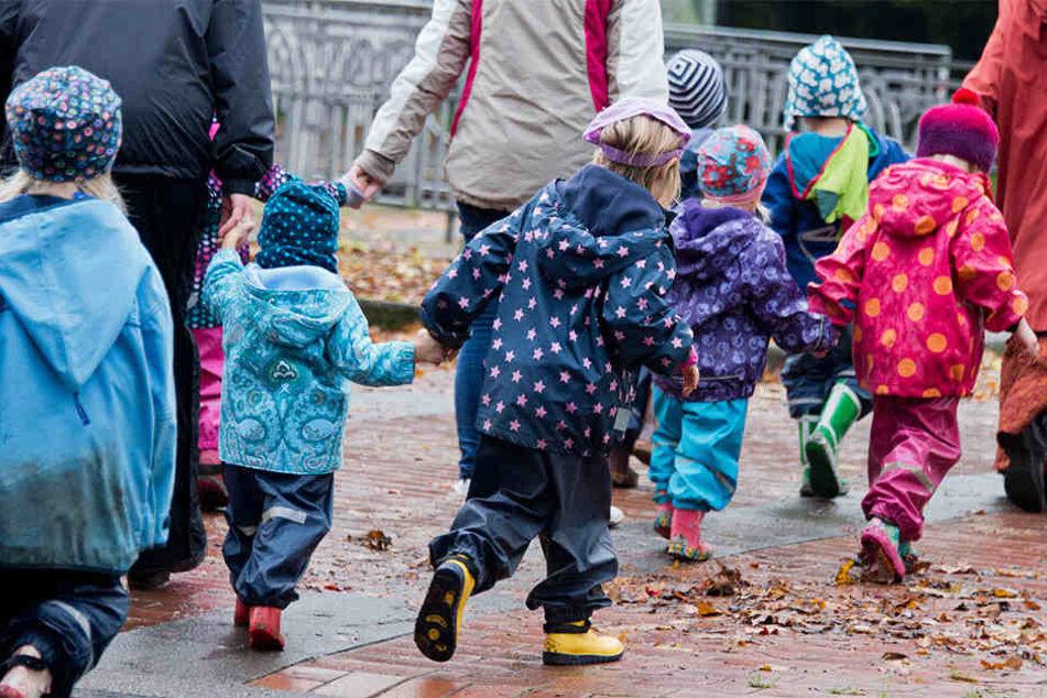 In der Kita an der Alten Messe sollen bald 185 Kinder Platz finden. (Symbolbild)