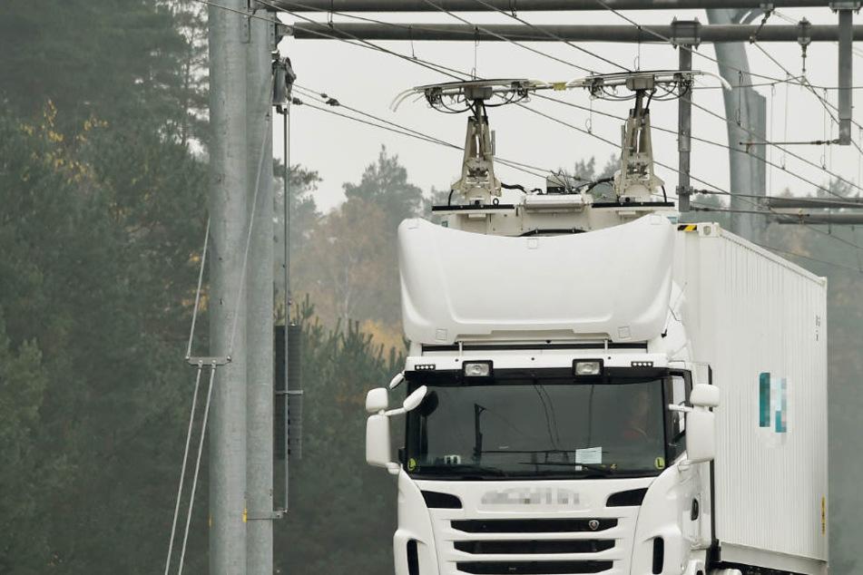 E-Brummis: Auf dieser Autobahn fahren die Lkws bald elektrisch