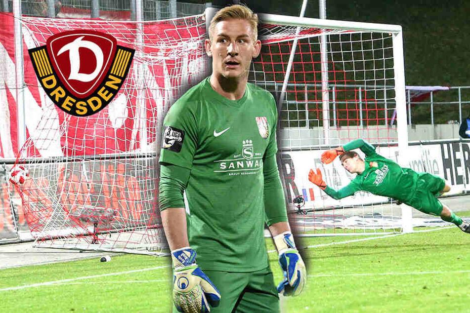 Schubert-Ersatz da! Dynamo verpflichtet Keeper Kevin Broll bis 2022