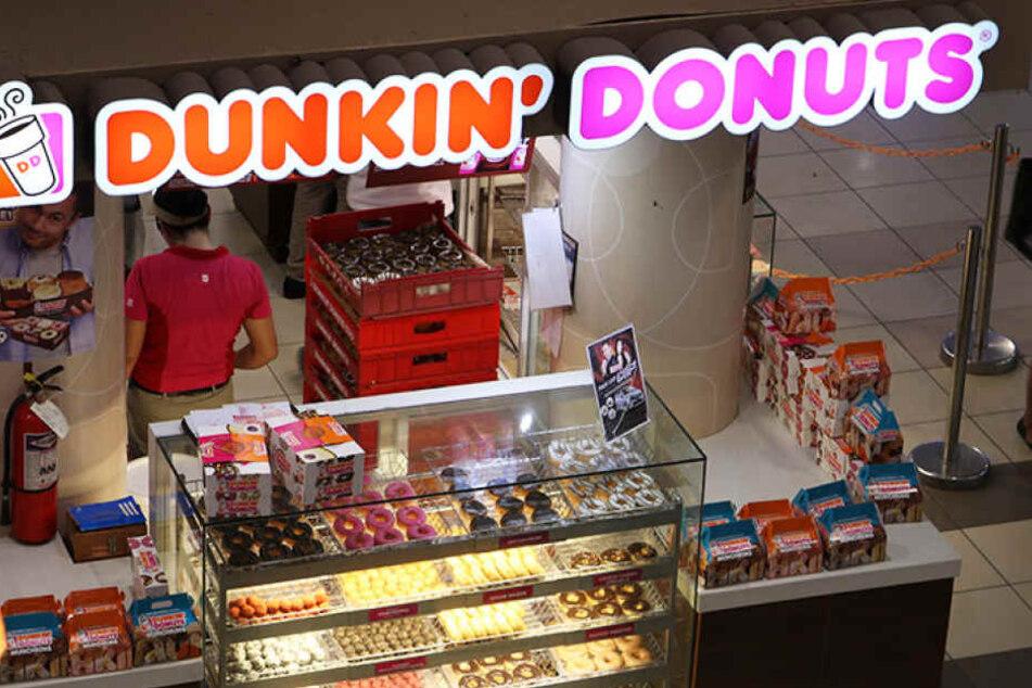 Zwei Franchise-Nehmer, die Dunkin' Donuts Filialen betreiben, sind pleite. Auch die Standorte in Leipzig sind betroffen. (Symbolbild)