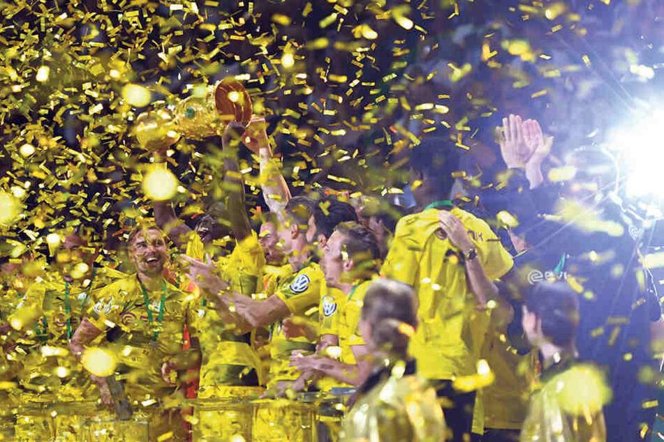 Borussia Dortmund feierte im Mai den Pokalsieg, ist somit Titelverteidiger.