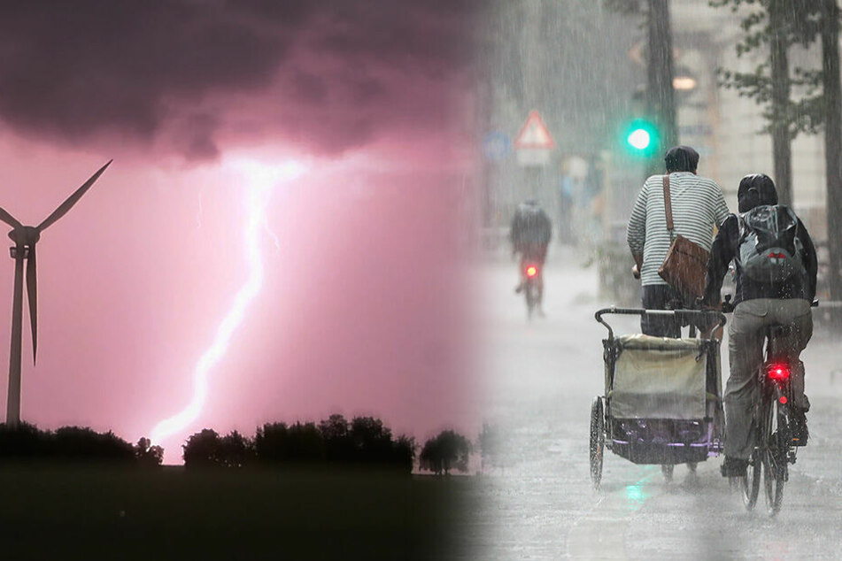Unwetter-Warnung! Hagel, Sturm und Starkregen schon wieder im Anmarsch