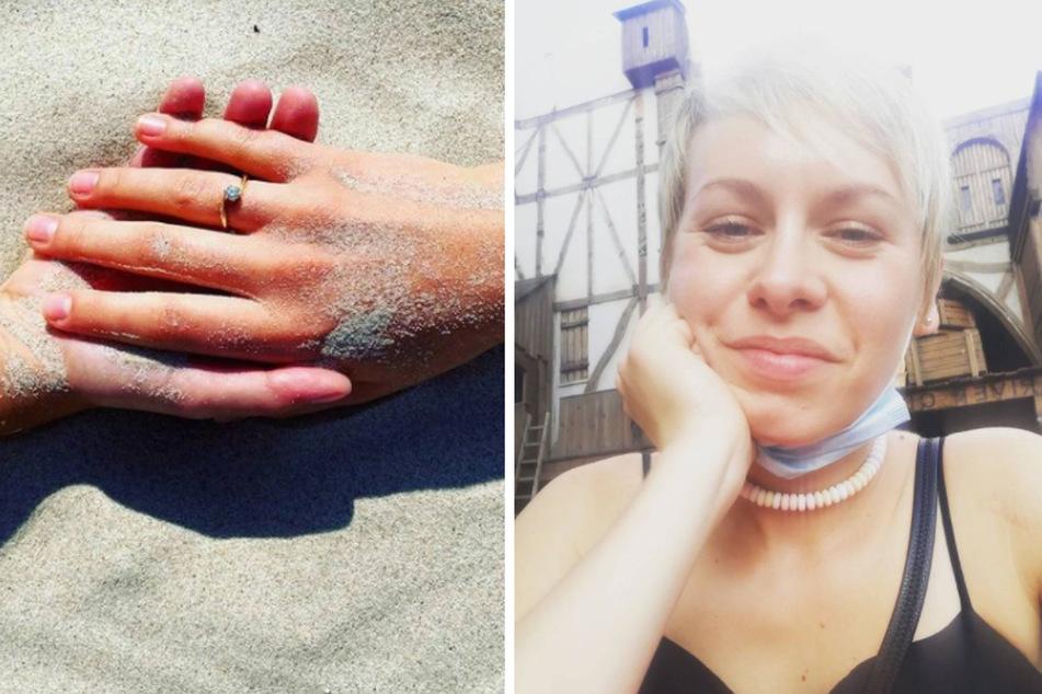 """Die """"Alles was zählt""""-Schauspielerin Jasmin Minz (28) hat sich verlobt."""