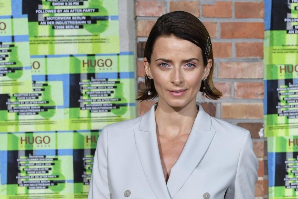 Eva Padberg bei der Berliner Fashionweek im vergangenen Jahr.
