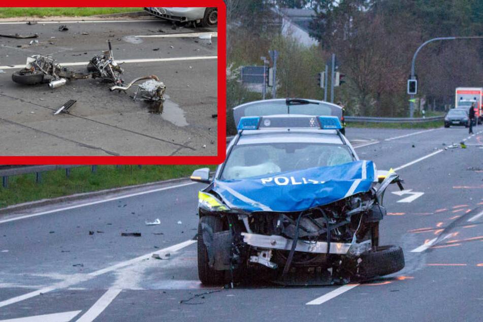 Mopedfahrer stirbt: Polizist nach tödlicher Einsatzfahrt angeklagt