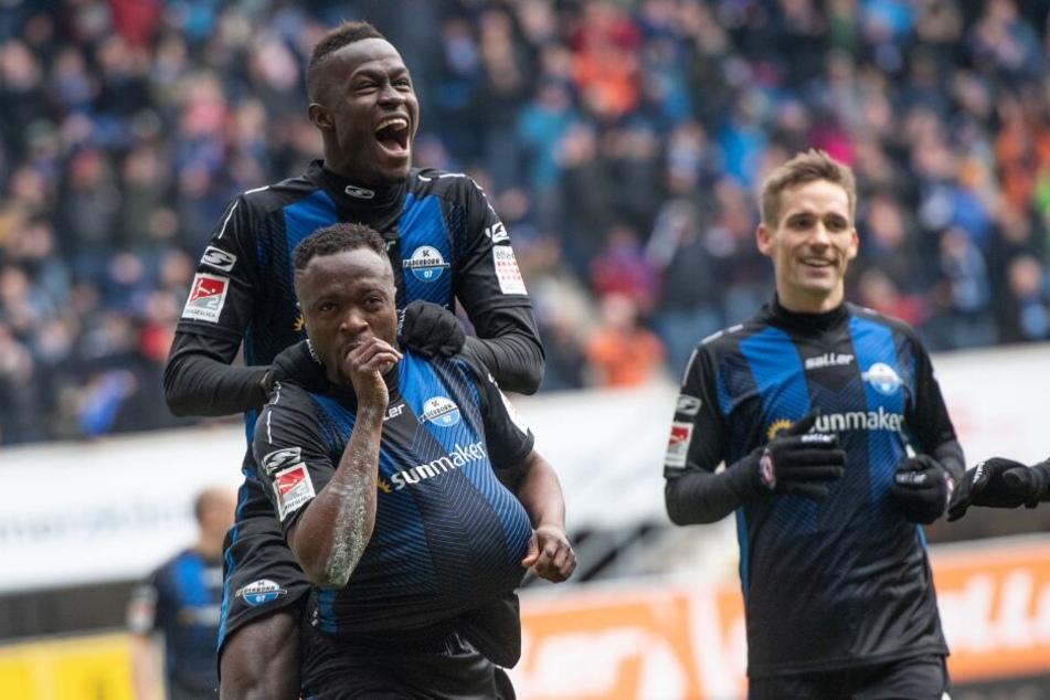 Mit 4:0 besiegte der SC Paderborn den MSV Duisburg.