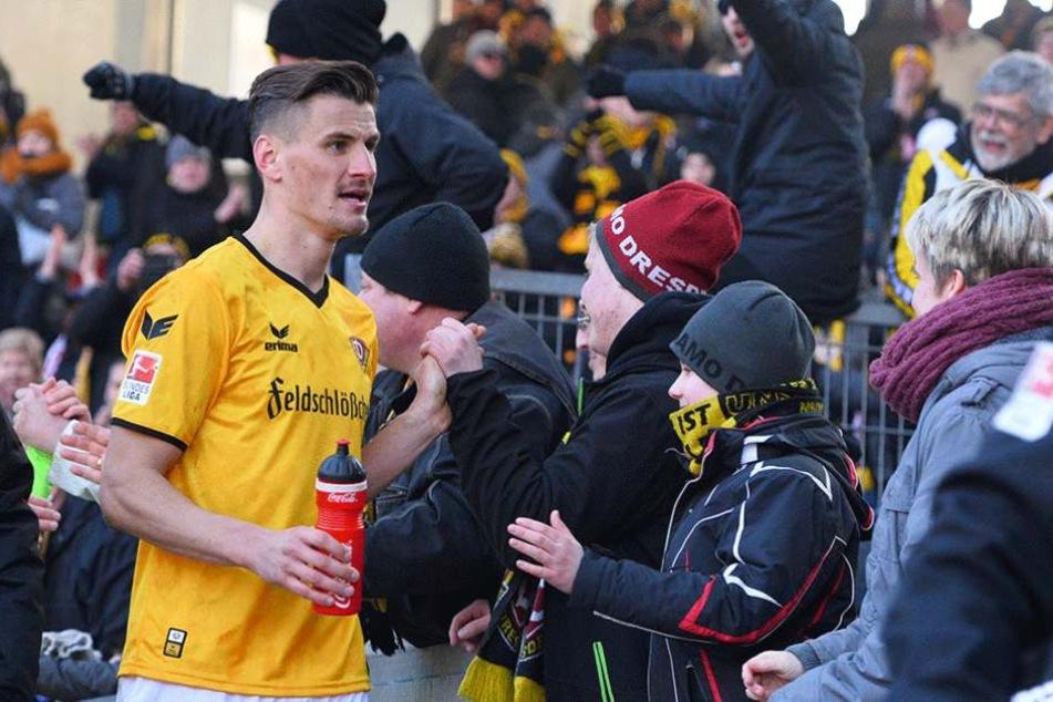 In den ersten beiden Dritteln der Saison waren die Fans mit Stefan Kutschke und Co. zufrieden.