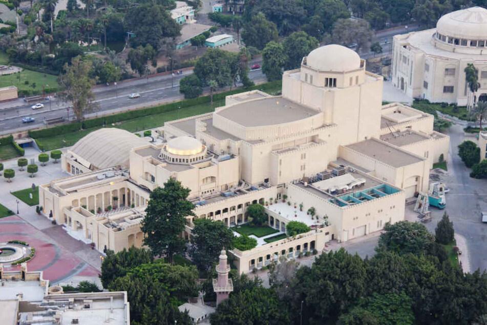 Das Opernhaus Kairo wurde 1985 als Geschenk von Japan an den ägyptischen Präsidenten Husni Mubarak gebaut.