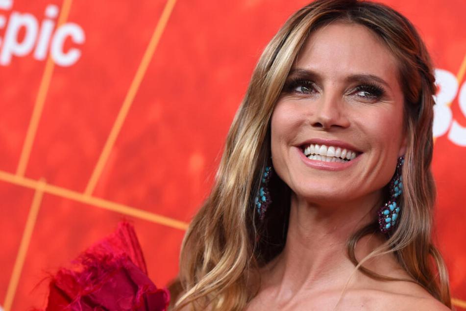 Heidi Klum (46) bei der amfAR Inspiration Gala Los Angeles.