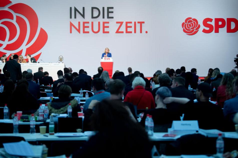 An diesem Wochenende findet der SPD-Bundesparteitag in Berlin statt.