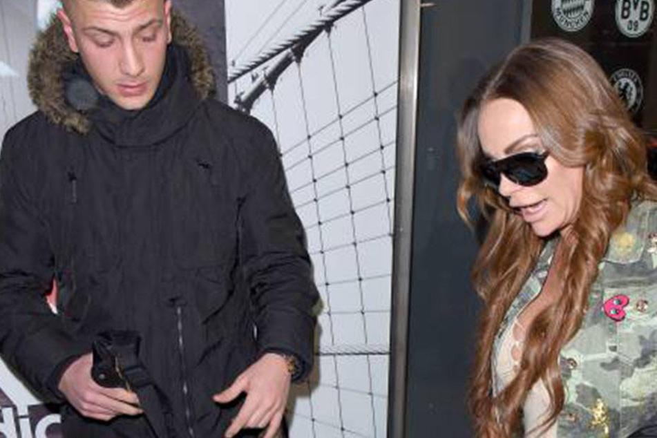 Emir (22) brachte Gina-Lisa (30) noch zum Flughafen. Bei Ankunft in Australien soll aber schon Schluss gewesen sein. Hä?
