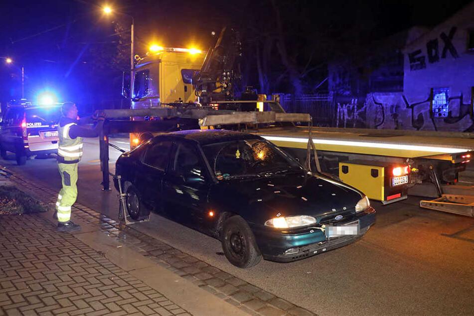 Am Samstagabend hat sich ein Unfall auf der Leipziger Straße in Höhe des Alten Schlachthofs ereignet.