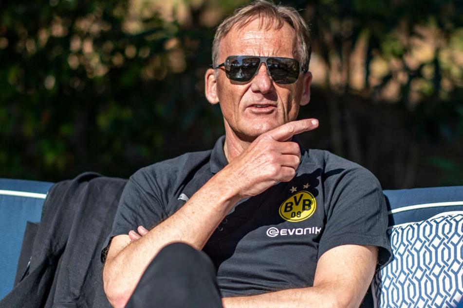 BVB-Chef Hans-Joachim Watzke hat die Hoffnung auf den Titel noch nicht aufgegeben.