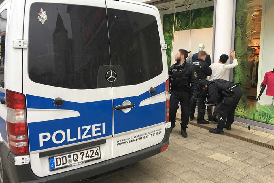 Auf dem Postplatz kam es wieder zu einer Auseinandersetzung unter Jugendlichen. Die Polizei sprach Platzverweise aus.