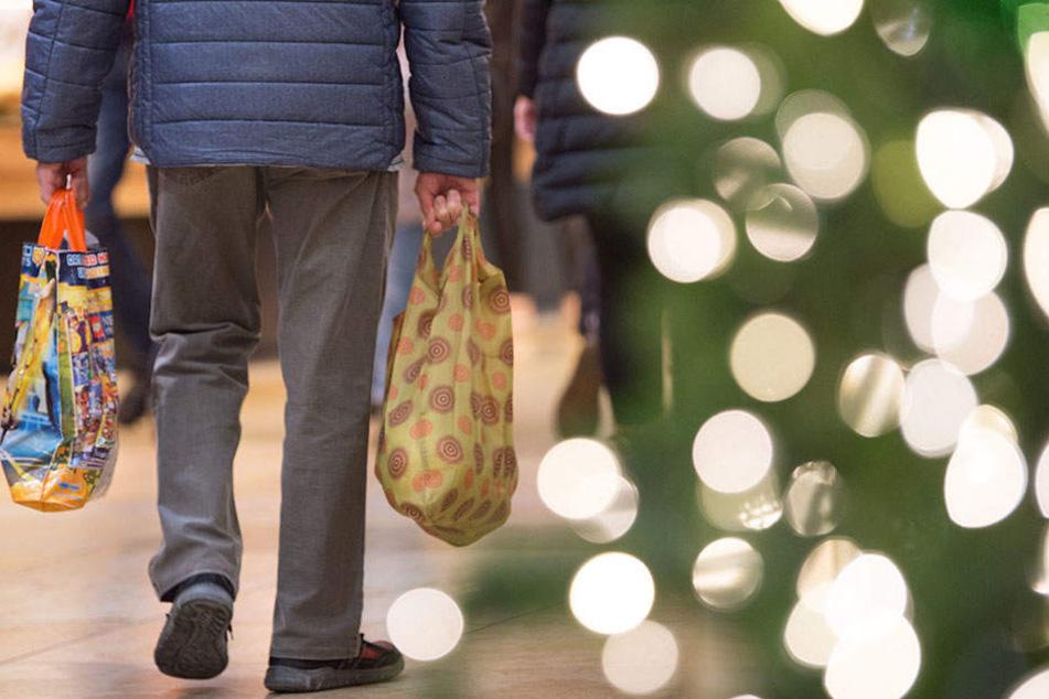 Wer noch an den Feiertagen einkaufen muss, der sollte zu den Bahnhöfen gehen.