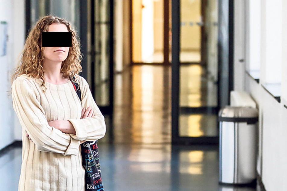 Anja S. (33) bekam vom Dresdner Amtsgericht eine Geldstrafe aufgebrummt.