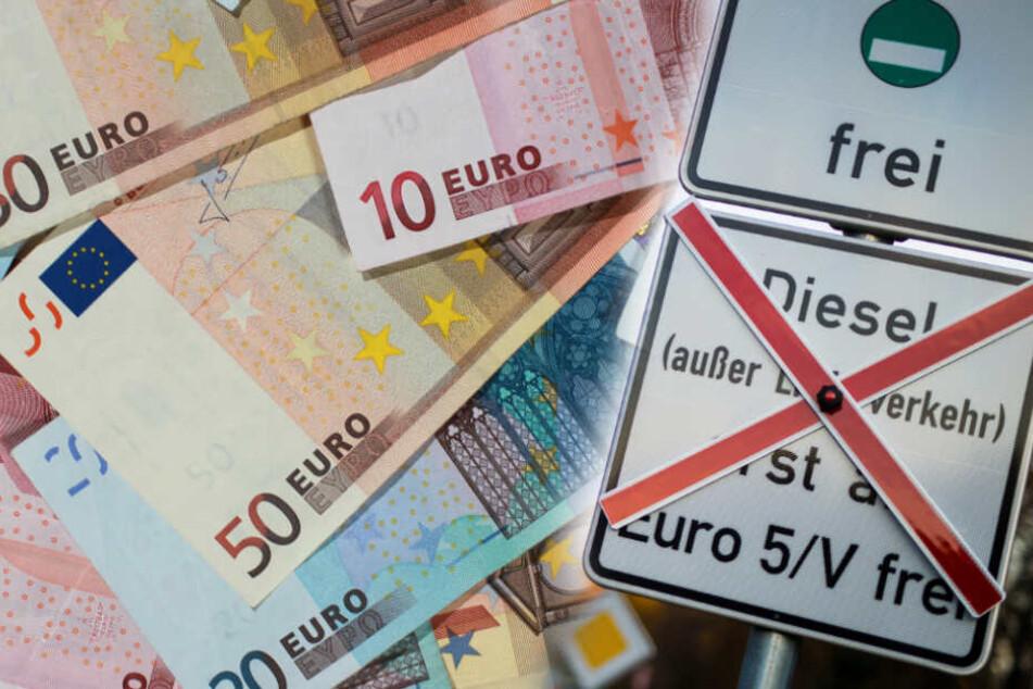 Die AfD-Landtagesabgeordneten wollen 52 Bußgeldbescheide bezahlen. (Symbolbild/ Fotomontage)