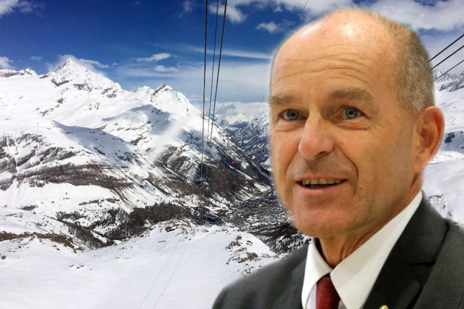 Der Milliardär galt als passionierter Skifahrer.